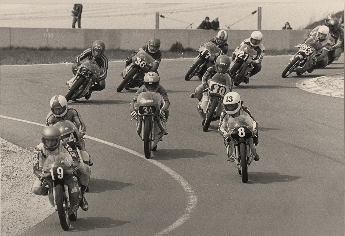 Une-course-de-125cm3-en-1982,-seconde-saison-du-Promosport-à-Carole